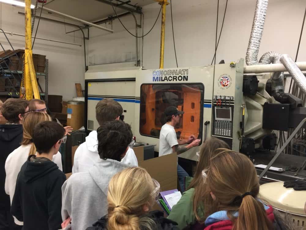 440 Ton Injection Molding Press